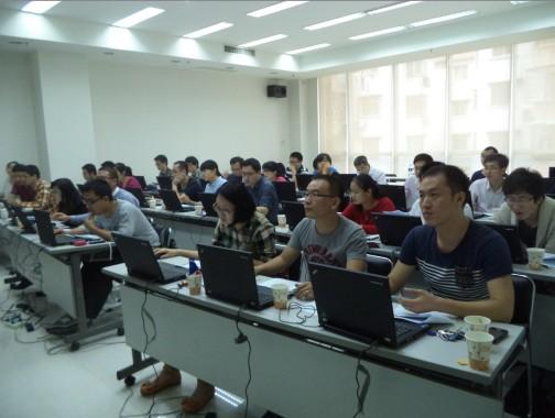 ECD计算与药效团建模培训班现场照片