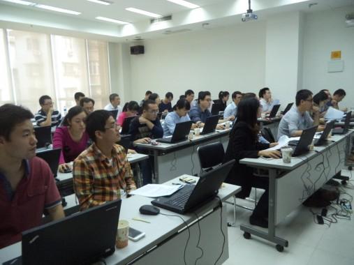 ECD计算与药效团建模培训班现场照片02