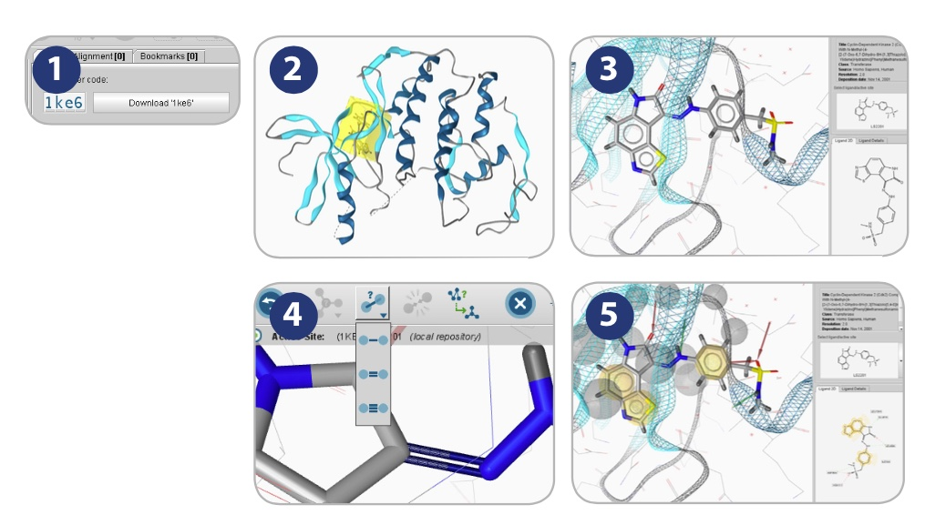 LS Tutorial, Structure-Based Pharmacophore