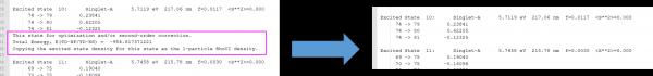 SpecDis Error in Opening Gaussian 09 Logfile
