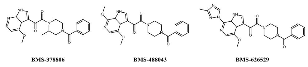 Cresset应用案例第四期,HIV-1进入抑制剂,图1