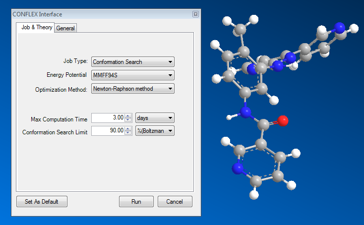 ChemBio3D CONFLEX