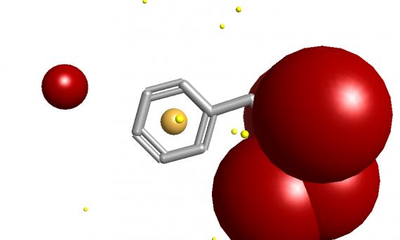 带电分子的静电处理