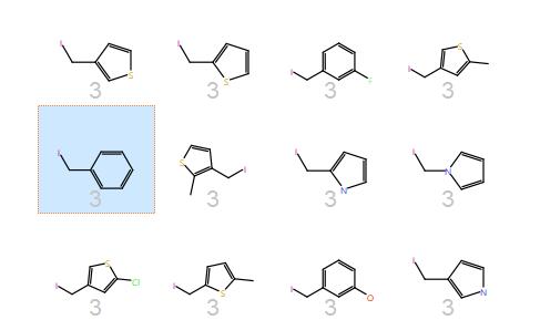 苯丙氨酸类的2D视图