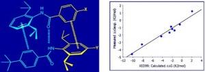二芳基酰胺二聚体及其结合常数