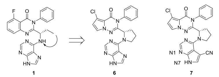 Rational design of PI3Kγ and PI3Kδ inhibitors
