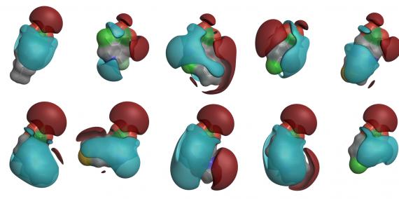 PickR B化合物聚类
