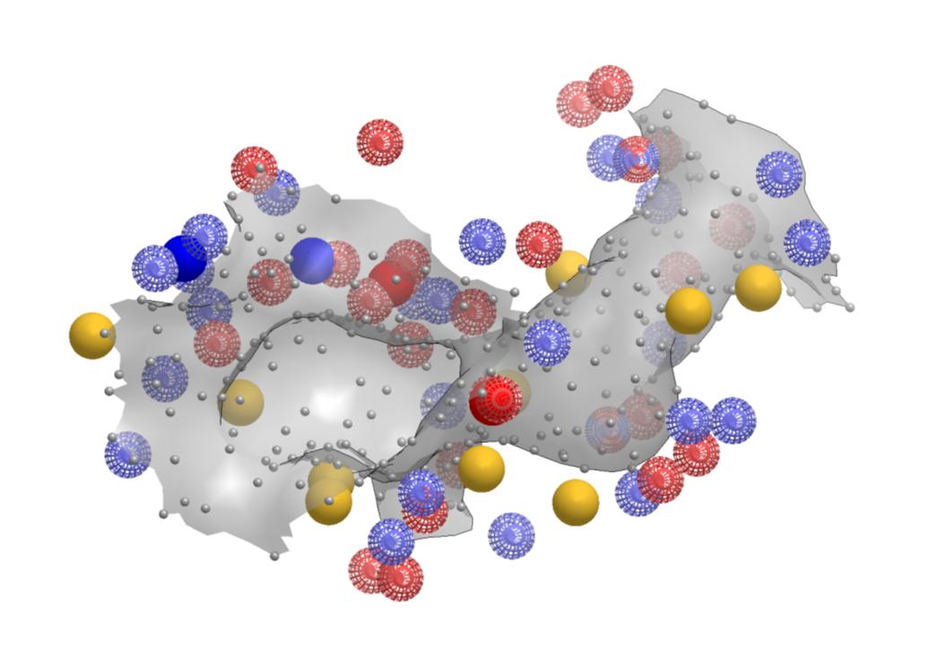 """图2. SiteHopper结合位点模型(也称为补丁,""""patch"""")"""